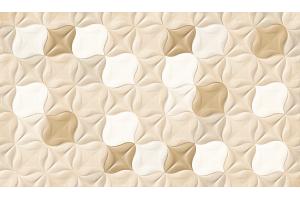 Revestimento Brilhante Arabesco Beige 33x60