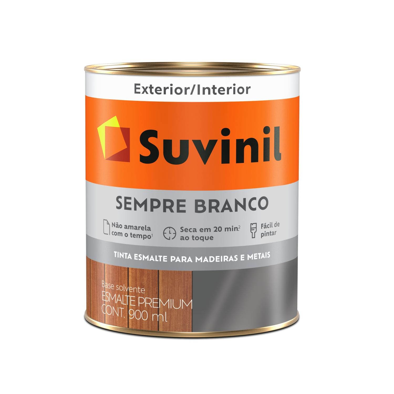 Esmalte Sintético Sempre Branco 900ml Brilhante - Suvinil