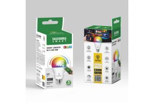Lâmpada Smart led Wi-Fi 10W A60 - TASCHIBRA