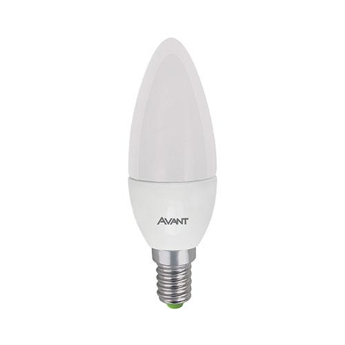 Lâmpada LED Vela 4W Bivolt AM3000K - Avant