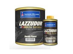 Kit Verniz Alto Solido Com Catalisador 900ml 8937 - Lazzudur
