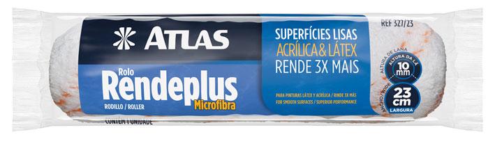 Rolo Microfibra 23cm 10mm 327/19 - Atlas